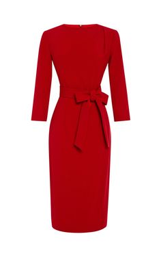 Pencil Dress With Pleats by A La Russe for Preorder on Moda Operandi
