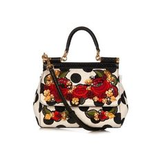 DOLCE & GABBANA Mini Sicily brocade and snake cross-body bag (19 395 SEK) ❤ liked on Polyvore featuring bags, handbags, shoulder bags, black white, crossbody shoulder bags, snake print purse, snake skin handbags, mini crossbody and mini crossbody purse