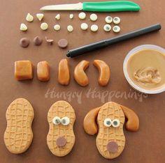 Dog Face Nutter Butter Cookie