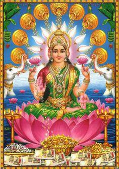Altares Virtuais, Altares online: Altar Virtual para a Deusa Lakshmi