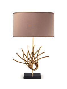 Sandhill Table Lamp - Gilt Home