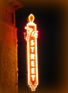 Lighted Neon Sign! by 7th Street Theatre, via Flickr