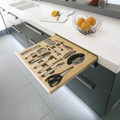 Tiroirs 12 ustensiles - Lapeyre #lapeyre #cuisine #kitchen