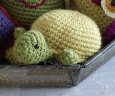 Free Crochet Pattern with free registration at lion brand yarn: Amigurumi Turtle (I MUST MAKE THIS) @Chanel Harris