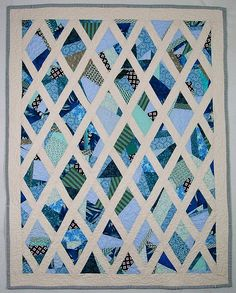 Could be very stained glass looking, great way to use scraps