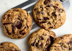 Quintessential Chocolate Chip Cookies (made with half yogurt, a little less sugar, and a lot fewer chocolate chips)