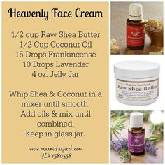 Young Living Essential Oils face cream