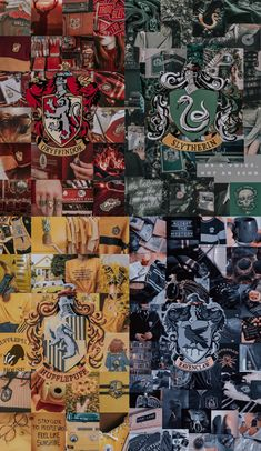 all of the hogwarts houses in one