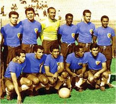 Colombia team group at the 1962 World Cup Finals.