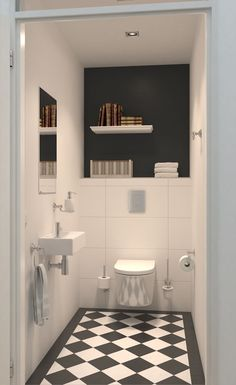 Transforming Small Bathrooms In Just 6 Easy Steps Afbeeldingsresultaat voor modern toilet design met grijze tegel Toilet Location In Bathroom Toilet Tiles, Bathroom Floor Tiles, Bathroom Toilets, Bathroom Wallpaper, Bathroom Wall Decor, Bathroom Styling, Bathroom Interior, Bathroom Ideas, Bathroom Designs