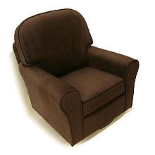 "Newco Serenity Classic Non Swivel Glider - Chocolate Chenille - NEW Corp - Babies ""R"" Us   seriously I don't have any babies but I want this chair it's soooo comfortable!"