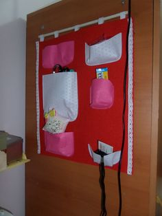 Wall organizer for my sewing stuff. It takes me about 1 hour.