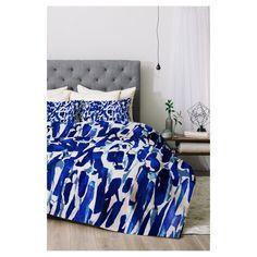 Blue Georgiana Paraschiv Comforter Set (Twin XL) 2pc - DENY Designs