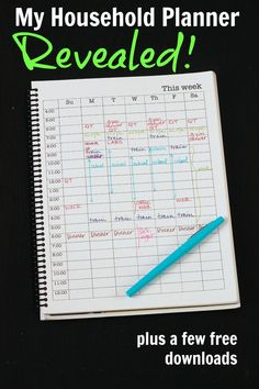 My Household Planner Revealed | Life as Mom - What do you put inside a household planner to help you manage the day to day without going crazy? Here are the planning pages that make a great household notebook. #FinanceNotebook