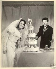 Ricky Nelson Kris Harmon wedding cake