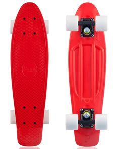 Penny Skateboards Complete - Red, Black, White Wheels http://driftingthru.com/skateboards/  #sk8 #skateboard #skate #penny