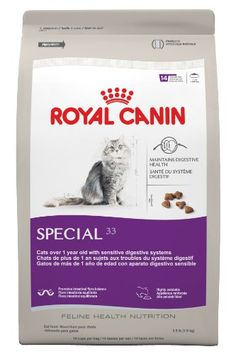 Royal Canin Dry Cat Food, Special 33 Formula, 15-Pound Bag | Your #1 Source for Pet Supplies. Ensures the optimal absorption of important vitamins and minerals
