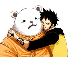 One piece Trafalgar Law & Bepo