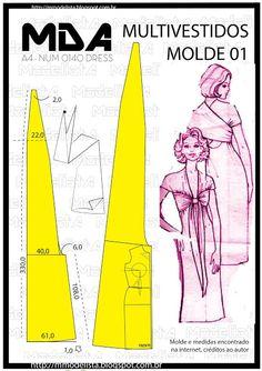 ModelistA: A4 NUMo 0140 MULTIVESTIDOS