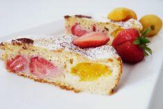 Môžete dať ľubovoľné ovocie, aké majú Vaše deti najradšej.  http://ywettrecepty.blogspot.sk/2012/05/kolacik-pre-deticky-na-mdd.html