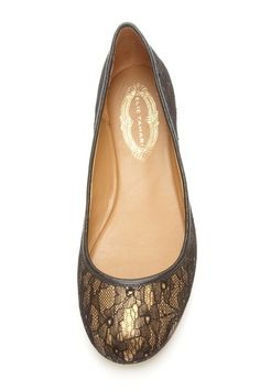 Lacey ballet flat-cute and professional