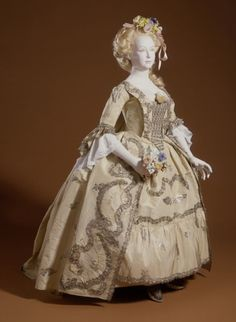 Robe à la Française 1760s The Los Angeles County Museum of Art - OMG that dress!