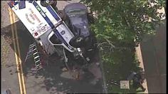 Ambulance ends up on side after accident in Lyndhurst, New Jersey  http://www.ajlounyinjurylaw.com