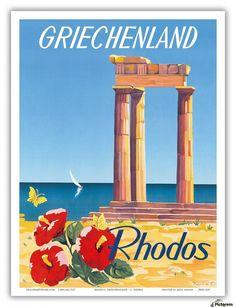 Image result for greece vintage
