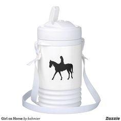 Girl on Horse Bevera