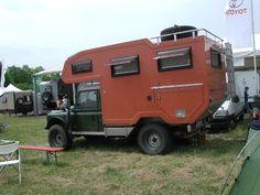 Landrover 130 Camper