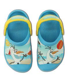 a975f9efc Crocs Frozen Olaf Electric Blue Clog