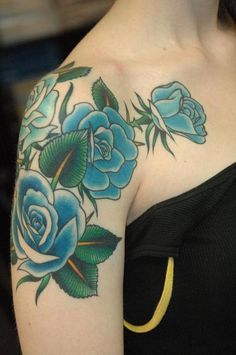 (13) shoulder tattoo | Tumblr