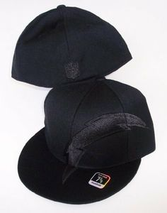 San Diego Chargers NFL Reebok Black Fitted Size 7 1 2 Hat Cap by Reebok ea0271d52