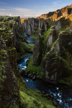 Fjaðrárgljúfur, Iceland     Valter Joannas
