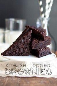Streusel-Topped+Brownies