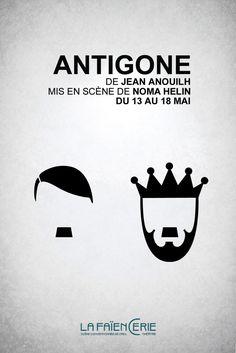 Afficher l'image d'origine Antigone De Jean Anouilh, August Strindberg, Samuel Beckett, Google Images, Company Logo, Logos, Movie Posters, The Outsiders, Centre