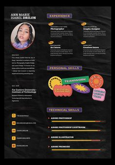 Graphic Design Resume, Cv Design, Graphic Design Print, Layout Design, Branding Design, Creative Resume Design, Report Design, Design Trends, Cv Inspiration