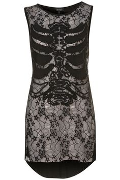 Rib Cage Lace Top - £28.00