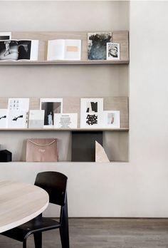 Norm Architects creates workspace for Kinfolk magazine in Copenhagen