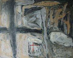 Untitled13 / Acrylic on canvas, 1994 / 162.2 x 130.3 cm (63.8 x 51.2 inch)