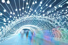 AEPioneer light tunnel tehran designboom