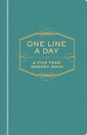 One Line A Day (inbunden)
