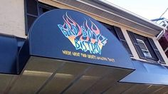 My favorite place to eat in town - Bad Boyz Bistro and COLD temps Feb 2015
