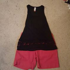 Tank top Cute summer top. Has flower design on bottom. Great condition. Don't wear. No Boundaries Tops Tank Tops