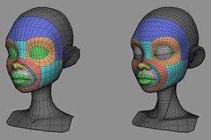facial modelling