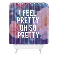 Leah Flores So Pretty Shower Curtain