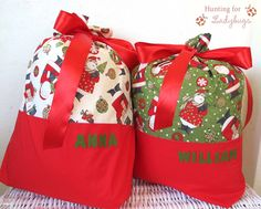 Personalised Santa Sacks