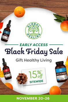 Sign up now & save big! You'll get access to our biggest sitewide sale a week early when you join our newsletter. Healthy Life, Healthy Living, Organic Supplements, Black Friday Deals, Natural Health, Healthy Lifestyle