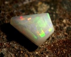 Faceted Wello Opal Cts 2.20