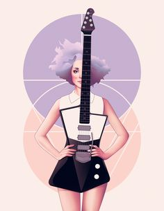 440 Best Guitar Illustrations Images Art Drawings Art
